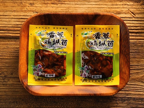 散称香蕈鸡枞菌麻辣味