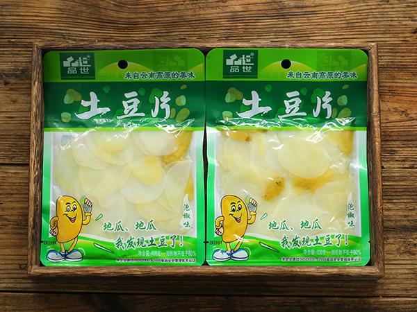 袋装108g泡椒味土豆片