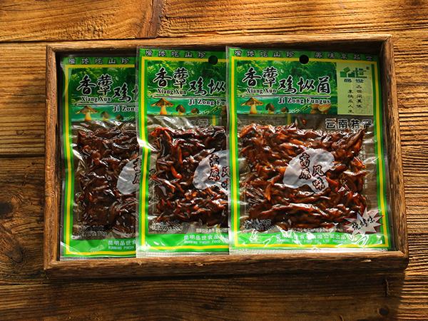 普装70g香蕈鸡枞菌麻辣味/鲜香味/烧烤味