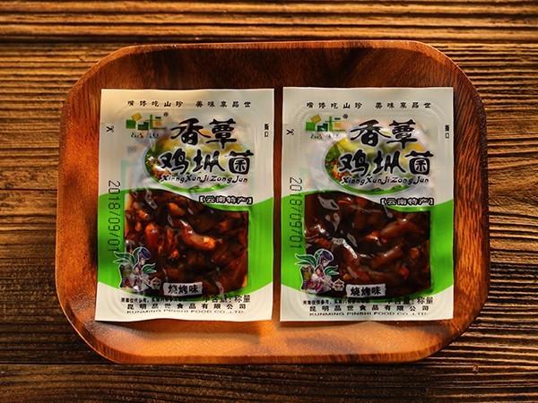 散称香蕈鸡枞菌烧烤味