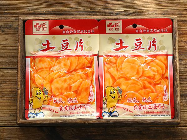 袋装108g香辣味土豆片