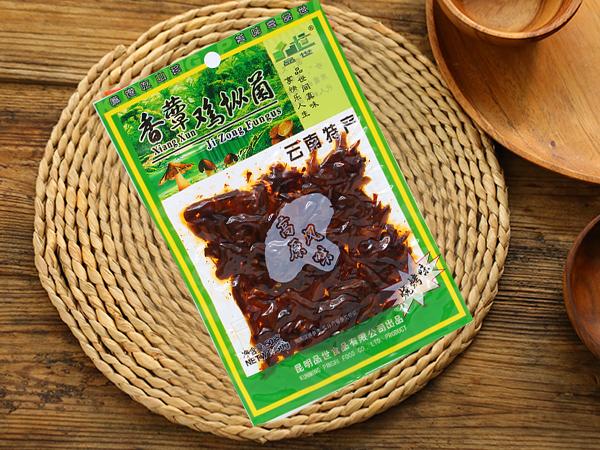 普装50g香蕈鸡枞菌麻辣味/鲜香味/烧烤味