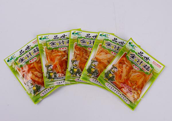 山珍菌菇休闲食品